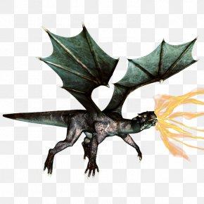 Fantasy Dragon HD - European Dragon Fire Breathing PNG