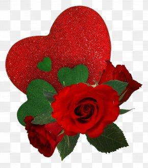 Valentine's Day - Garden Roses Love Valentine's Day Friendship PNG