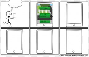 Storyboard Printable - Paper Telephony Brand Pattern PNG