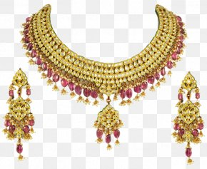 Jewellery - Jewellery Earring Necklace PNG