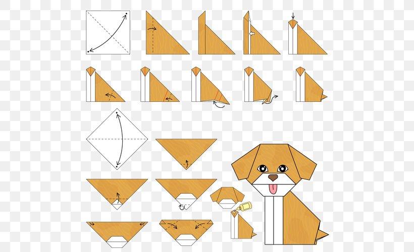 Easy Origami For Kids.: Dog(face) | Summer fun | Pinterest | Easy ... | 500x820