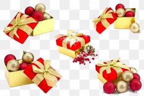 Christmas Gift Box - Santa Claus Christmas Gift Christmas Gift PNG