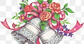 Flower Arranging Floristry - Bouquet Of Flowers Drawing PNG