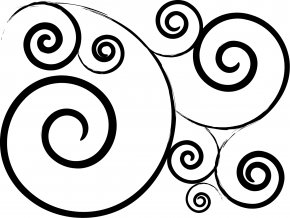 Simple Swirl Cliparts - Clip Art PNG