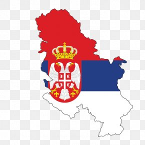 Map - Flag Of Serbia Serbia And Montenegro First Serbian Uprising Map PNG