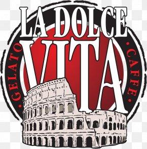 Dolce & Gabbana - Coffee La Dolce Vita Cafe Logo Menu PNG
