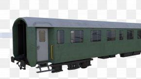 Train - Railroad Car Train Passenger Car Vehicle Rolling Stock PNG