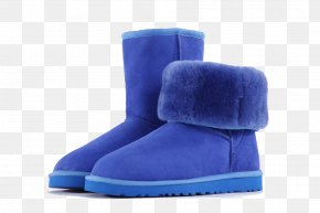 Blue Snow Boots - Snow Boot PNG