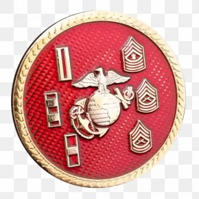 Military - Challenge Coin Military United States Marine Corps Badge Marines PNG