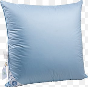 Pillow - Throw Pillow Down Feather Cushion Bed PNG
