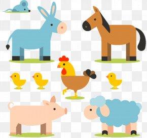 Animal Figure Flat Design - Animal Cartoon PNG