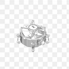 Fan Assembly - Heat Sink Central Processing Unit Laptop PNG