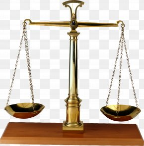 The Balance Of Justice - Lady Justice Weighing Scale Clip Art PNG