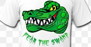T-shirt - T-shirt Canvas Alligator Clip Art PNG