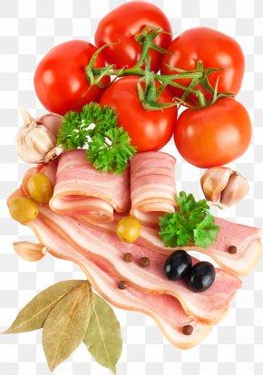 Bacon - Bacon Tomato Clip Art PNG