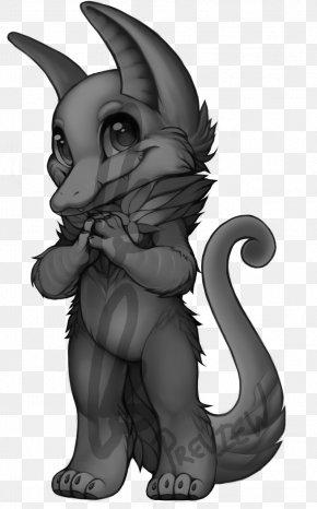 Cat - Cat Line Art Goblin Demon PNG