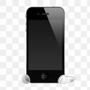 Headphones - IPhone 4S Apple Earbuds Headphones PNG