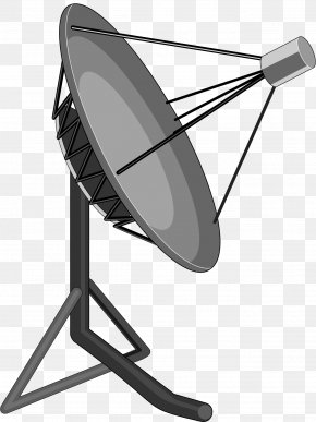 Vector Painted Antenna - Satellite Dish Dish Network Antenna Clip Art PNG