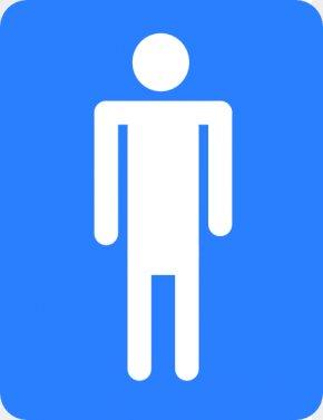Mens Bathroom Sign - Bathroom Male Public Toilet Clip Art PNG