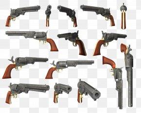 Weapon - Firearm Revolver Pistol Clip Art PNG