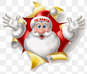 Santa Claus - Santa Claus Christmas Wish Gift New Year PNG