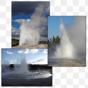 Water - Geyser Water Resources Water Feature Stock Photography PNG