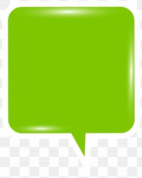 Bubble Speech Green Clip Art Image - Speech Balloon Text Clip Art PNG