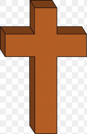 Brown Cross Cliparts - Christian Cross Christianity Clip Art PNG