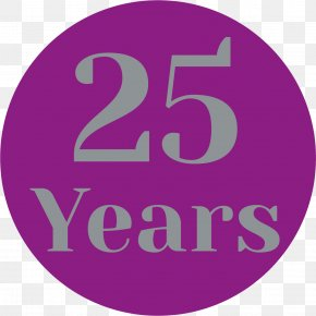 25 Years Anniversary - Icon Design Logo PNG