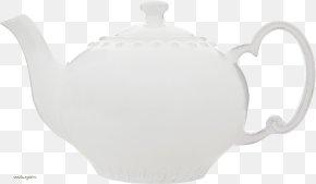 Tea Kettle Image - Teapot Kettle Ceramic Tableware White PNG