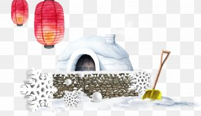Winter Snow House - Snow Winter PNG