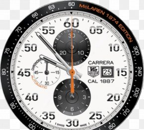 Watch Face - McLaren F1 LG G Watch TAG Heuer Chronograph PNG