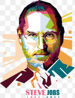Jobs COLORFUL Avatar - Steve Jobs Art Clip Art PNG