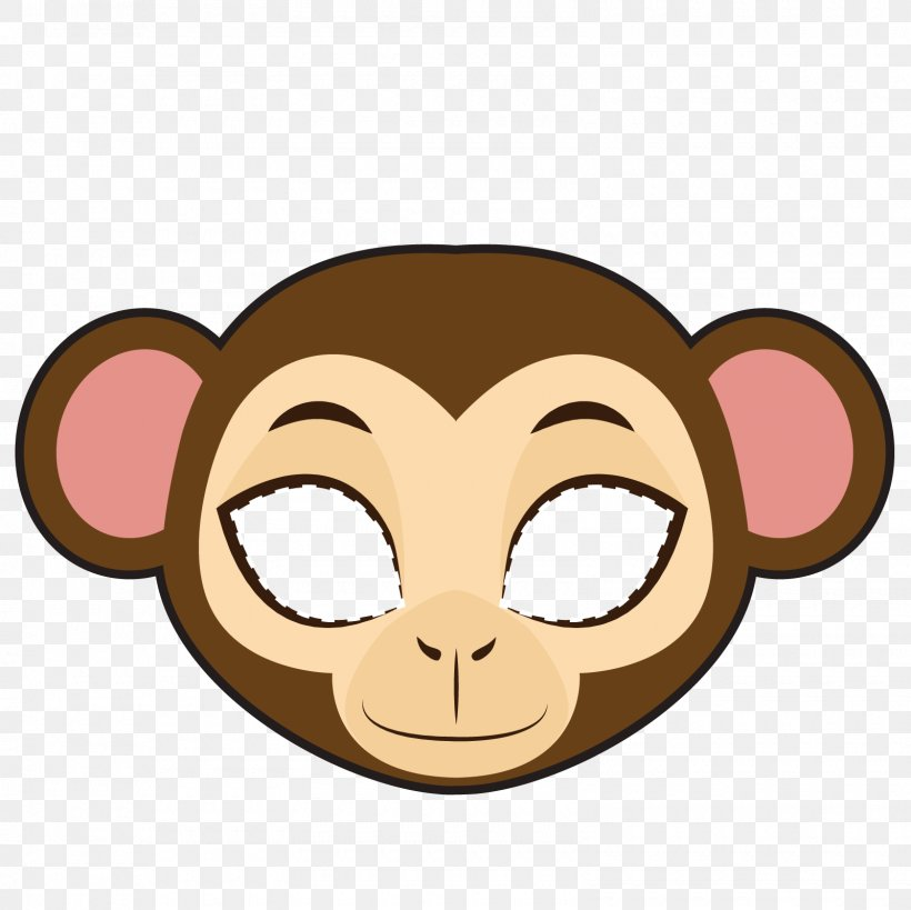 Monkey Clip Art, PNG, 1600x1600px, Monkey, Animal, Cartoon, Face, Head Download Free