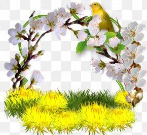 Spring Heralds - Summer Spring Season GIF Watercolor Painting PNG