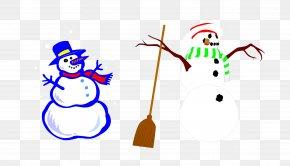 Vector Snowman - Snowman Euclidean Vector PNG