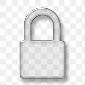 Padlock Picture - Padlock Brand Black And White PNG
