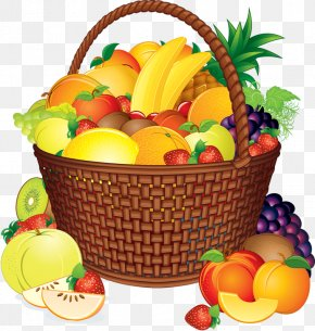 Fruits Basket - Basket Of Fruit Food Gift Baskets Clip Art PNG