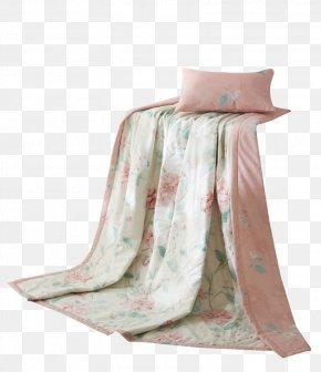Pink Warm Summer Cool Material - Blanket Pink Summer PNG