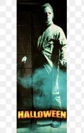 Halloween High-grade Door - Halloween Film Series Green Album Cover Poster PNG