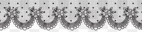 Deco Lace Transparent Clip Art Image - Lace Clip Art PNG