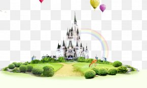 Castle Lawn,banner Elements - Lawn PNG
