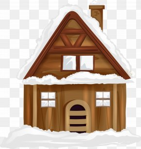 Winter House Transparent Image - House Clip Art PNG