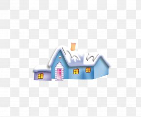 Vector Snow House - Christmas Snow PNG