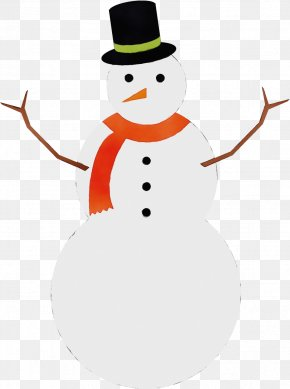 Snowman Wet Ink - Snowman PNG