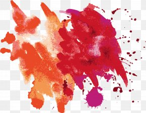 Creative Background Vector Inkjet Printer - Stock Photography Watercolor Painting PNG