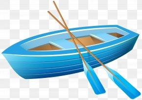 Blue Boat Transparent Clip Art Image - Blue Boat Company Anchor Clip Art PNG