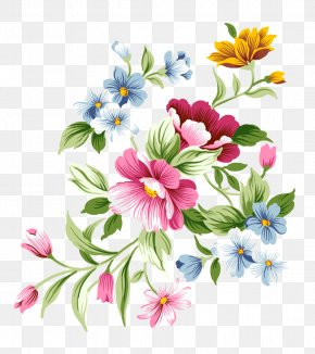 Flowers Background - Pink Flowers Clip Art PNG