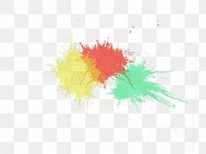 Color Splash - Watercolor Painting PNG