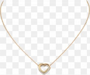 Necklace - Necklace Colored Gold Carat Brilliant PNG